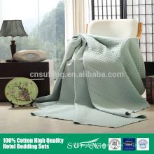 Colcha de cama de patchwork hotel colcha al por mayor lavado