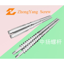 Conical Twin Screw for Plastic Extruder