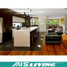 Meubles d'armoires de cuisine de panneau de particules de mélamine de style campagnard (AIS-K748)