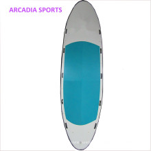 Раздувная Гигантская Доска Весло Команда Вечерять Стоят Вверх Surfboard
