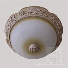 Новый дизайн смолы потолочный светильник с стеклом тени (SL92677-3)