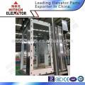 Cabine d'ascenseur pour visites / fabrication par verre / type de mode