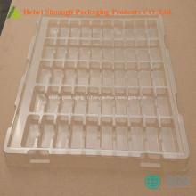 Bac d'emballage jetable en plastique outil