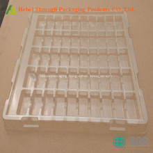 Disposable plastic tool packaging tray