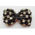 Bowknot Fabric Rhinestone Shoe Flowers