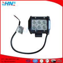 4inch 18W barra de LED de trabajo de inundación / Spot Lamp Of-Road barco
