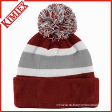 Kundenspezifische Art- und Weisestrickende Hut-Mütze