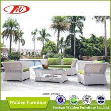 Nice Woven Rattan Outdoor Sofa Dh-823