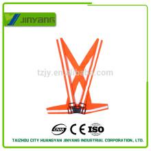 Безопасности светоотражающий жилет пояс /harness