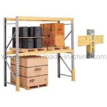 Einfache zwei Ebenen Light Duty Storage Shelves oder Racks