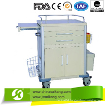 Simple Functional Emergency Trolley for Improved Safety