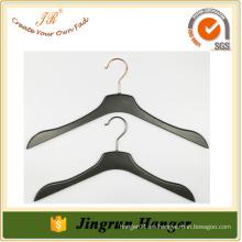2016 Percha caliente de la ropa de la venta Percha de ropa negra del plástico