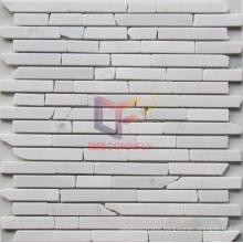 Irregular Volakas White Marble Mosaic (CFS943)