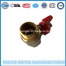 Brass Water Meter Ball Valves (Dn15-25mm)