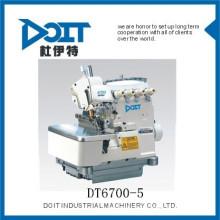 DT 6700-5 Super cinco tópicos de overlock itens de costura calças que fazem a máquina