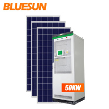 Bluesun solar energy systems 50kw  off grid solar power system 50kw with battery