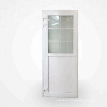 Graceful frosted glass interior french doors