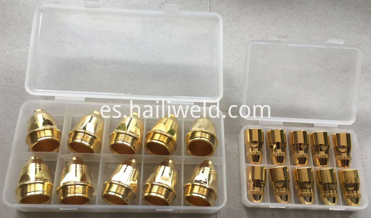 P-80 electrode and tip golden colour