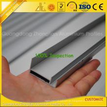 Quadro solar de alumínio anodizado com perfis de extrusão de alumínio