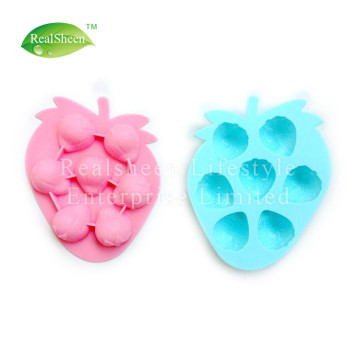 Strawberry Silicone Ice Cube Schokoladenseifenform