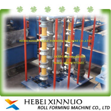 canton hot sale xinnuo brief curve fence panel roll forming machine