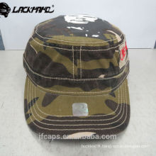 colorful comfortable 100% cotton military hot cap