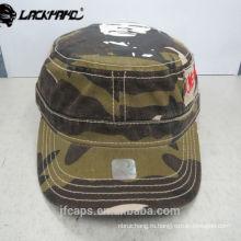 красочная удобная кепка в стиле милитари из 100% хлопка