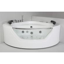 Round Acrylic Indoor Massage Bathtub (JL827)