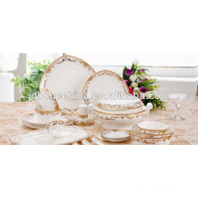 new emboss design 42% bone ash gorgeous Fine bone china container home