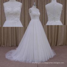 Новая Толстая Алина Слоистых Шифон Свадебное Платье