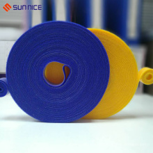 Atacado barato nylon magic tape cable band