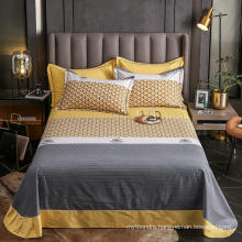 China Wholesale Cotton Twin Size Bedsheet Cheap Price for Bed Linen