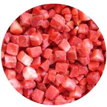 IQF frozen fruit frozen strawberry diced