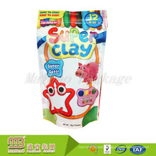 Customized Logo Small Opaque Cute Stand Up Ziplock Bag For Candy Package