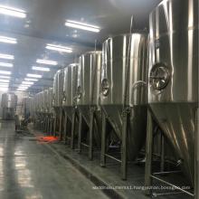 Industrial 2000L beer fermenter / cone bottom beer fermentation tank