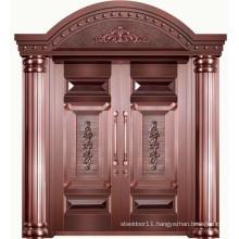 Real copper door main door