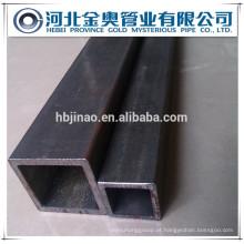 Quadrado / retangular tubo de aço sem costura / tubo China fabricante