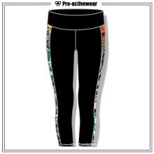 Colorful Women Cool Pattern Wholesale Capri Yoga Pants