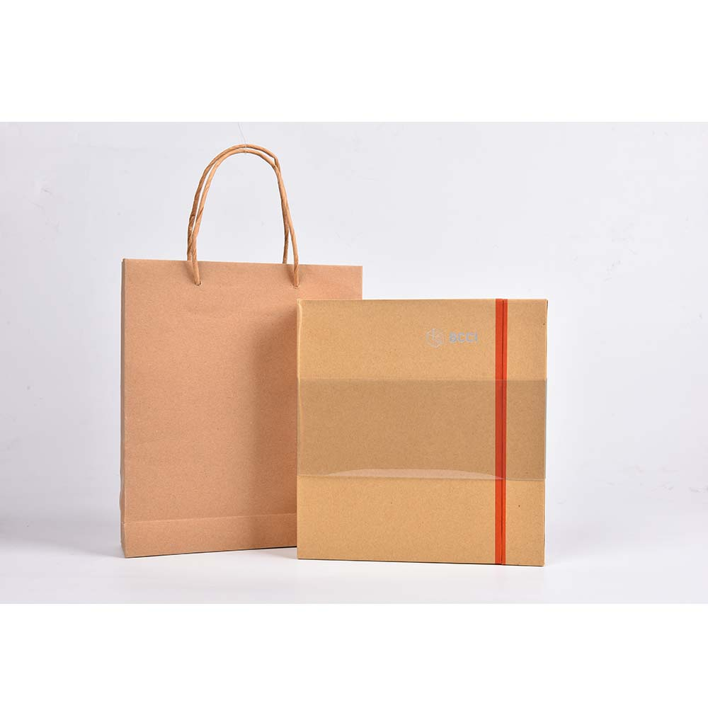 Kraft Paper Gift Box And Bag