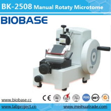 Bk-2508 Manual Rotary Paraffin Microtome with Fast Trimming Retraction Function
