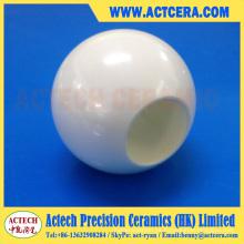 Zirconia pulida y válvula de bola de alúmina