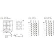 4,0 pulgadas, 10,0 mm DOT (GNM-40571Ax-Bx)