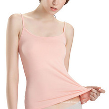 100% Soft Cotton Plain Sexy Women Singlet
