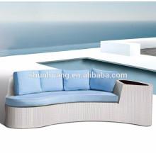 balcony wicker day bed