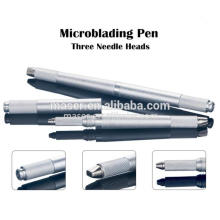 Whoelsale Price Aluminum Eyebrow Microblading Tools / 3d Tattoo Pen, sourcils Broderie Handpiece Manuel