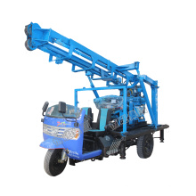 Borehole drilling machine Wheel mounted portable water well drilling rigs