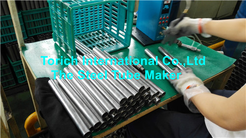 Cutting to Short Length Steel Tubes