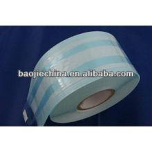 esterilizador médico en papel / bolsa de plástico de embalaje / bolsa