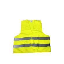 Chaleco de seguridad reflectante de alta luminosidad (amarillo).