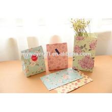 Bolo de comida Bolo de papel saco de transporte de presentes saco de papel de Natal